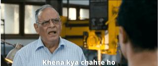 Khena kya chate ho | 3 idiots meme templates