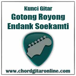 Gotong Royong Endank Soekamti Kunci Chord Gitar