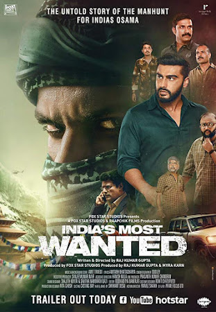 Poster Of Bollywood Movie India's Most Wanted 2019 300MB Pdvd Full Hindi Movie
