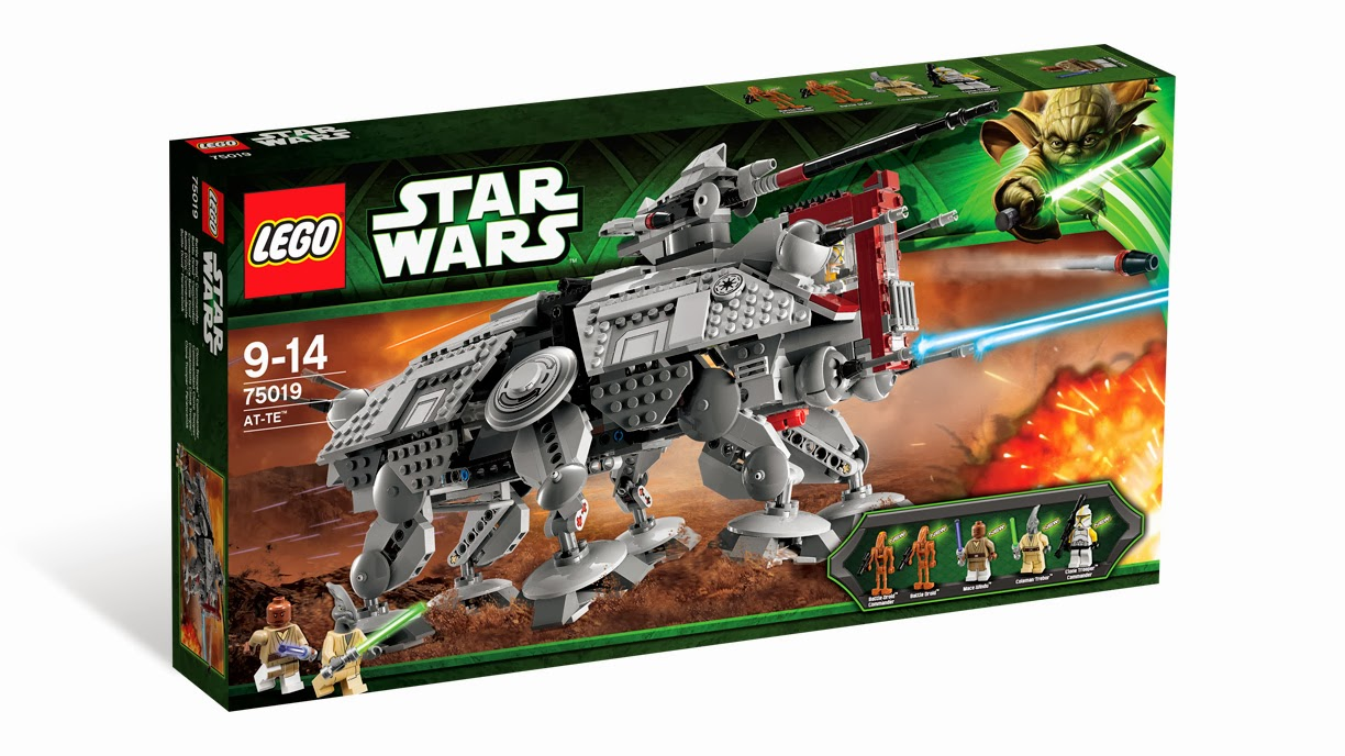 Now Available Amazon.com: LEGO Star Wars 75019 - AT-TE