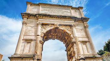 Debes conocer el Arco de Tito en Roma