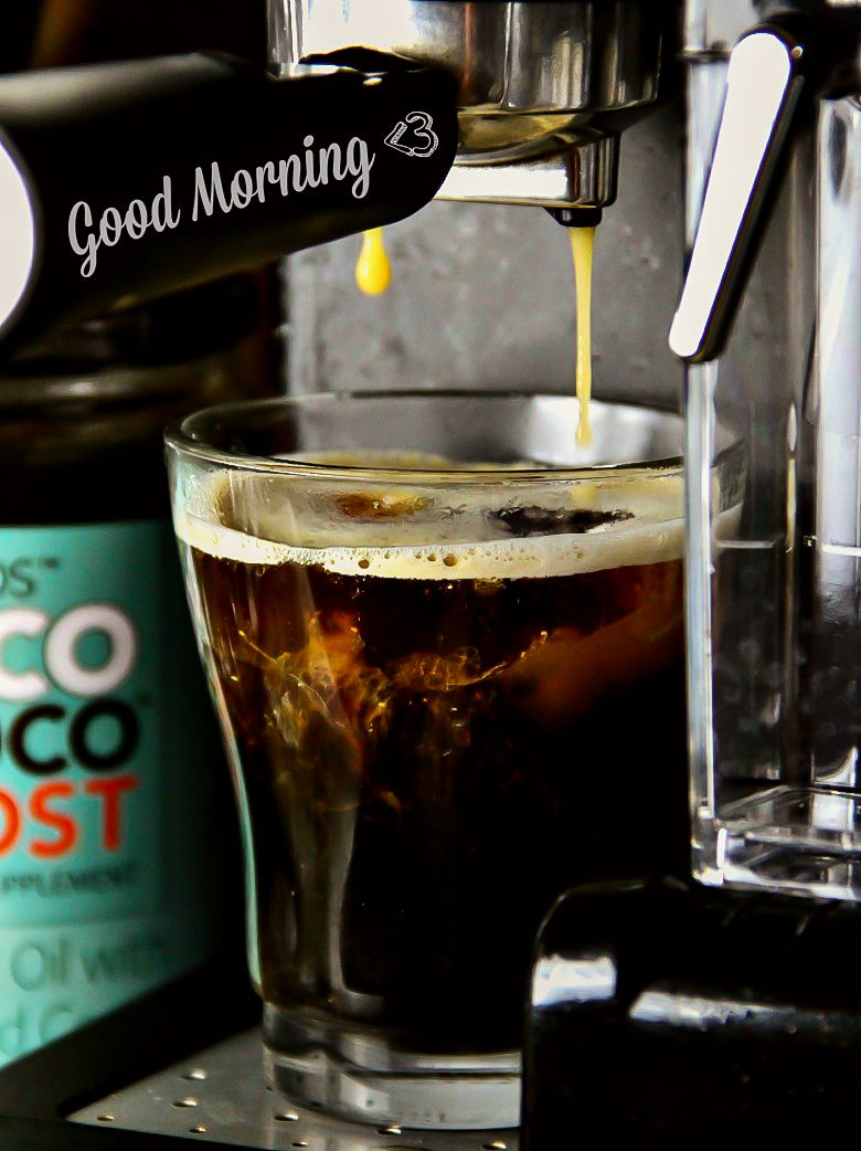 Coconut Mocha Latte - Simple, and delicious...