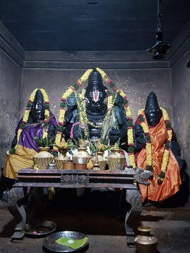 Sri Thirukuraiyalur Ugra Narasimha Temple Main Deity