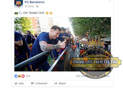 "Barcelona Juga Ikutan Meramaikan ""Om Telolet Om"""