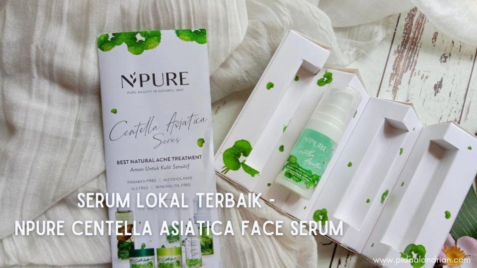 Serum Lokal Terbaik NPURE Centella Asiatica Face Serum