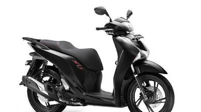 Mat Galaxy Black Metallic Warna Terbaru Skutik Honda SH150i