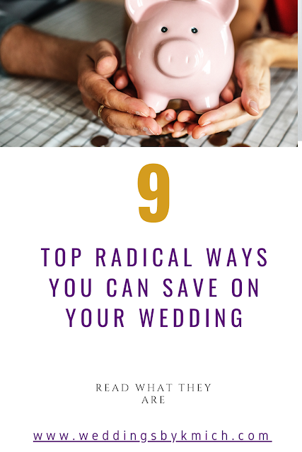 Saving where you can is always good. - wedding planning tips - wedding goals - wedding details - K'Mich Weddings Philadelphia PA