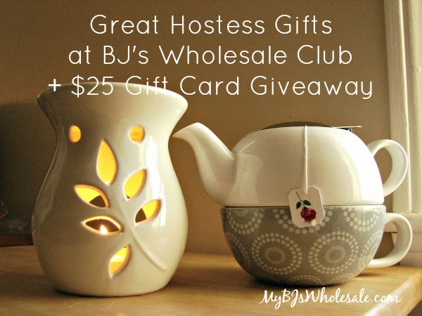 Great Hostess Gifts at BJ's Wholesale Club and a $25 Gift Card Giveaway