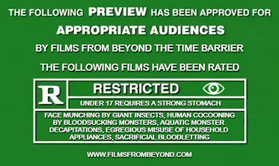 Parody of MPAA preview ratings