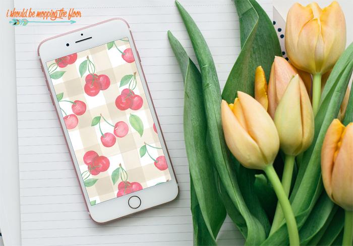 Cherry Phone Wallpaper