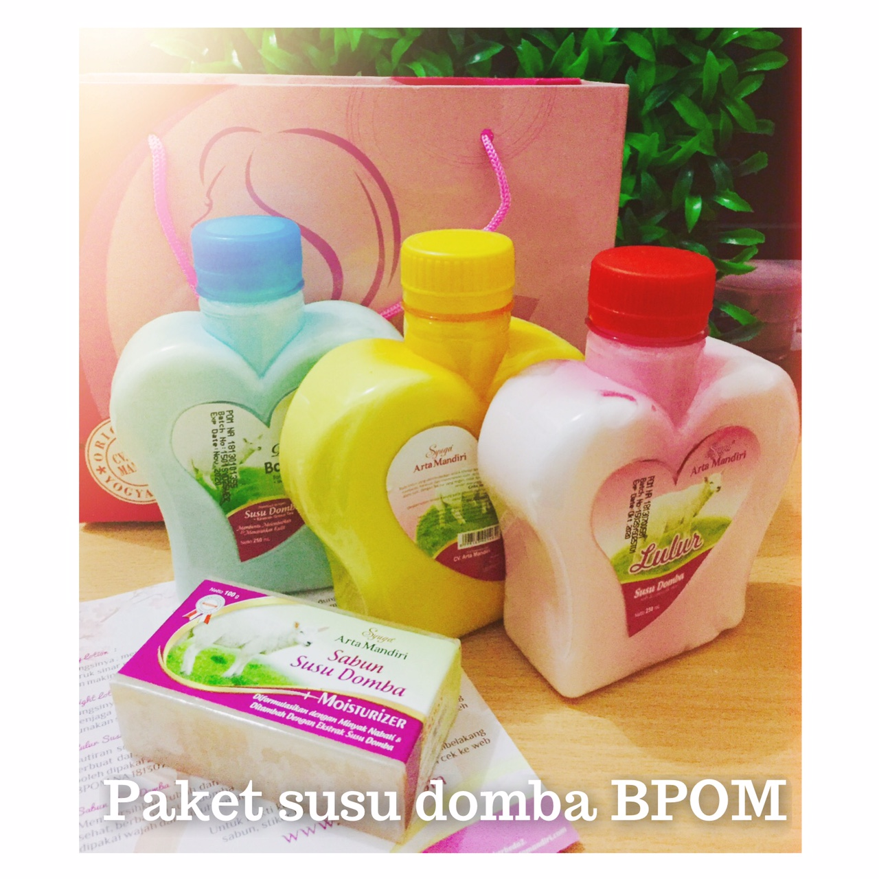 Paket Susu Domba Psd Pemutih Badan Asli Murah Original Bpom Cv Arta Cream Artha Mandiri Terdiri Dari