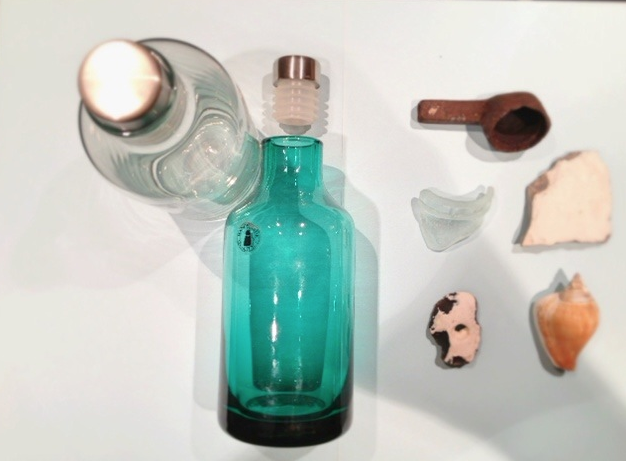 meerschmuck strandfunde schm cken glasflaschen. Black Bedroom Furniture Sets. Home Design Ideas