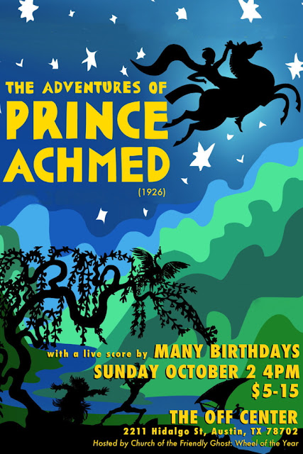 Many Birthdays Prince Achmed @ The Off Center