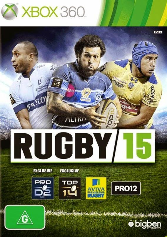 Rugby 15 Multilenguaje ESPAÑOL XBOX 360