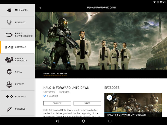 Halo Channel Free Android App and game on Apcoid.com