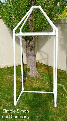 Diy Outdoor Canopy Pvc