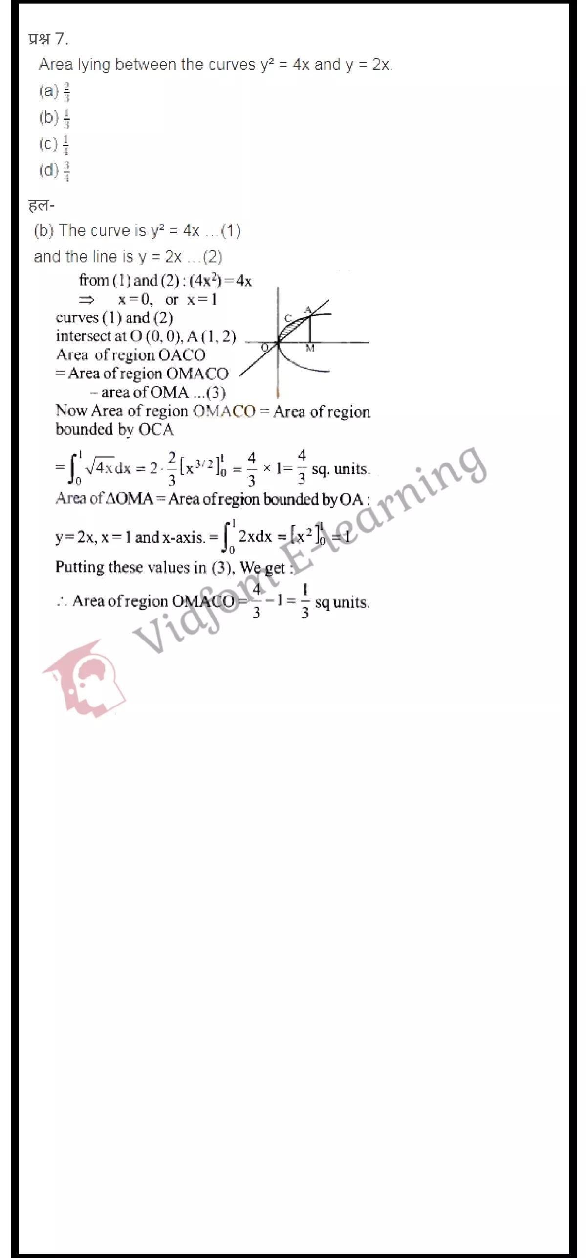 class 12 maths chapter 8 light hindi medium 13