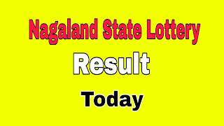 Nagaland State Lottery Result Today 14/06/2021
