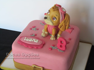 lady paw patrol cake