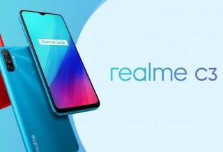 ponsel realme c3 sudah menggunakan chipset gaming mediatek Helios G70