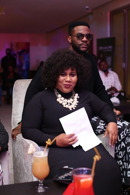 African Song Goddess, Omawumi recently held her exclusive listening party for her EP titled ''In Her Feelings'' and many celebrities were in attendance.