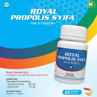Royal Propolis Syifa, produk kesehatan Nasa yang bermanfaat untuk memelihara daya tahan tubuh