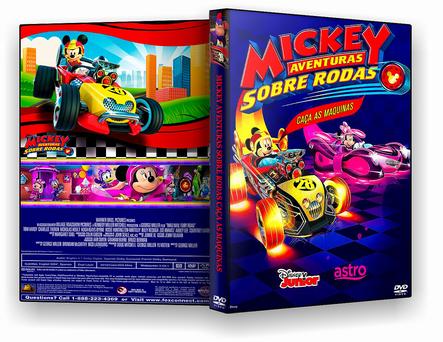 MICKEY AVENTURAS SOBRE RODAS CAÇA AS MAQUINAS 2019 - DVD-R