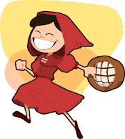 Cuento corto en inglés: Little Red Riding Hood (Caperucita Roja)
