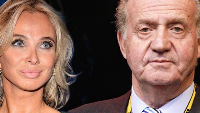 Corinna Larsen y Juan Carlos I