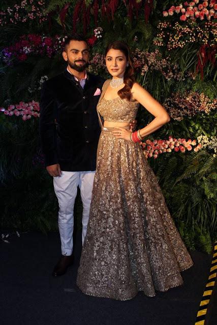 Anushka Sharma And Virat Kohli Wedding Celebrations Photos In Mumbai