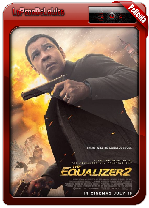 The Equalizer 2 (2018) | El Justiciero 2 |  720p H264 Dual