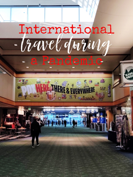 Just because America is doing well in regards to Covid, know there should be some things to think about if you're planning an international trip.