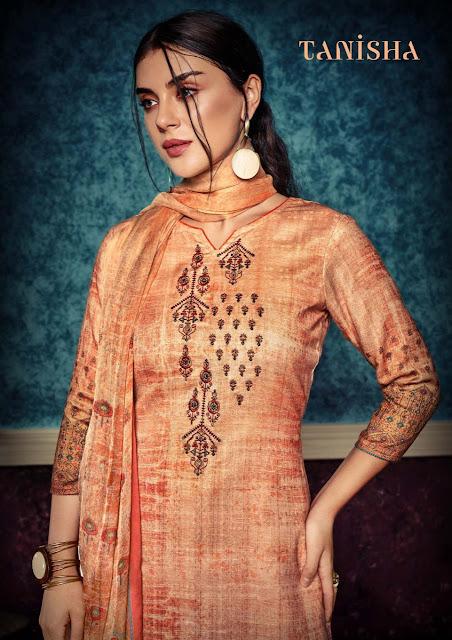 Sargam Print Tanisha Woolen Pashmina  Collection