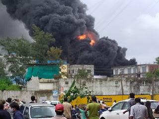 GIDC की रासायनिक कंपनी में आग नियंत्रण में है। - Vapi Media News