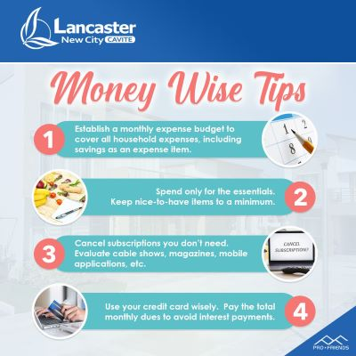 How to use money wisely