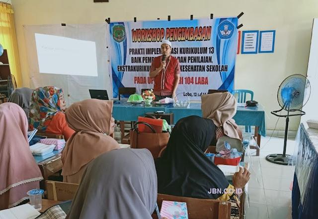 Pembelajaran Era Industri 4.0, Guru SMPN 1 Masamba Luwu Utara Sosialisasikan Portal Rumah Belajar
