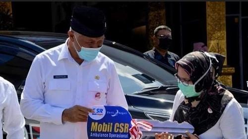 Wako Mahyeldi Apresiasi Bank Nagari Dukung Peningkatan Pelayanan Kesehatan di Padang
