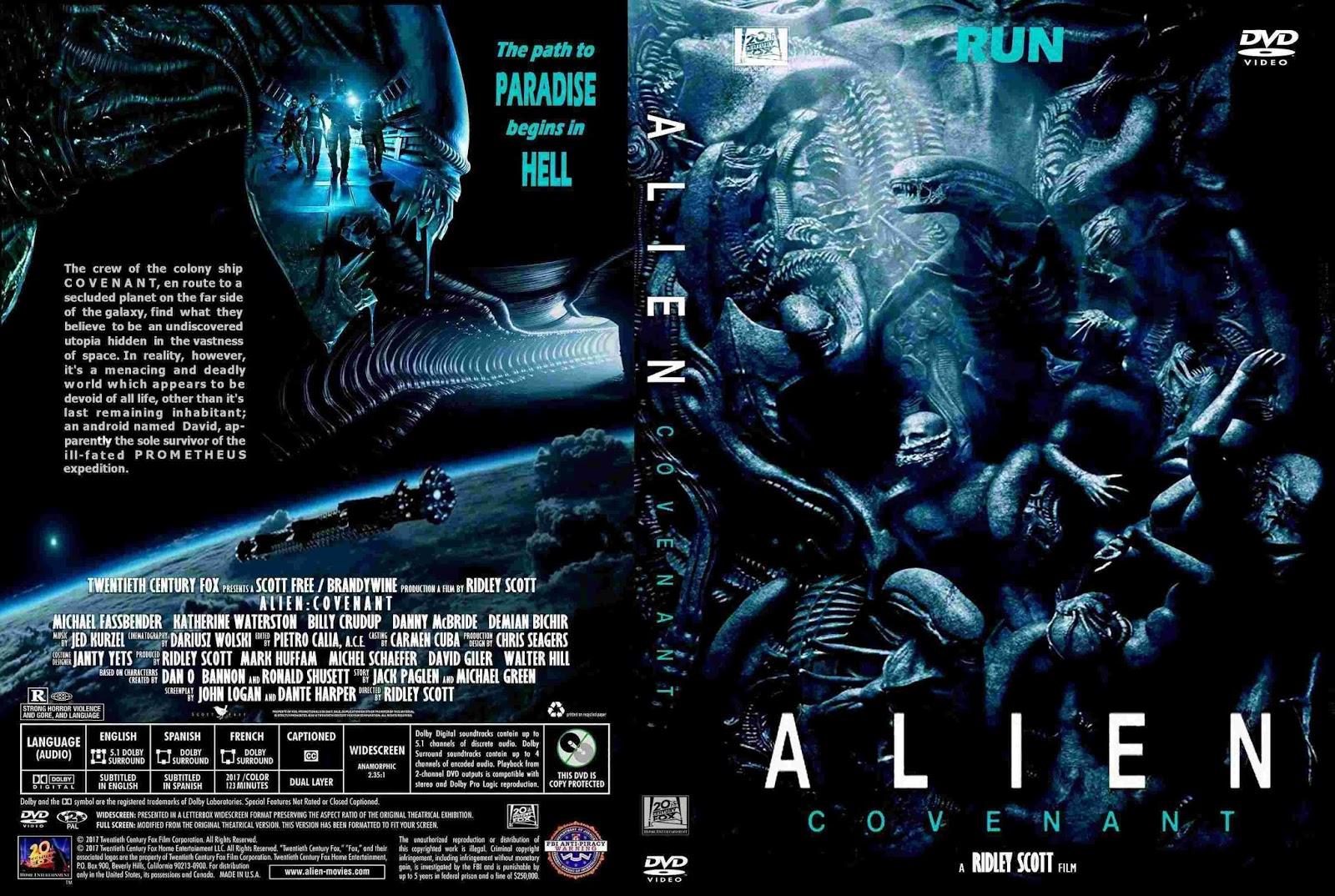 Resultado de imagem para ALIEN COVENANT CAPA DVD