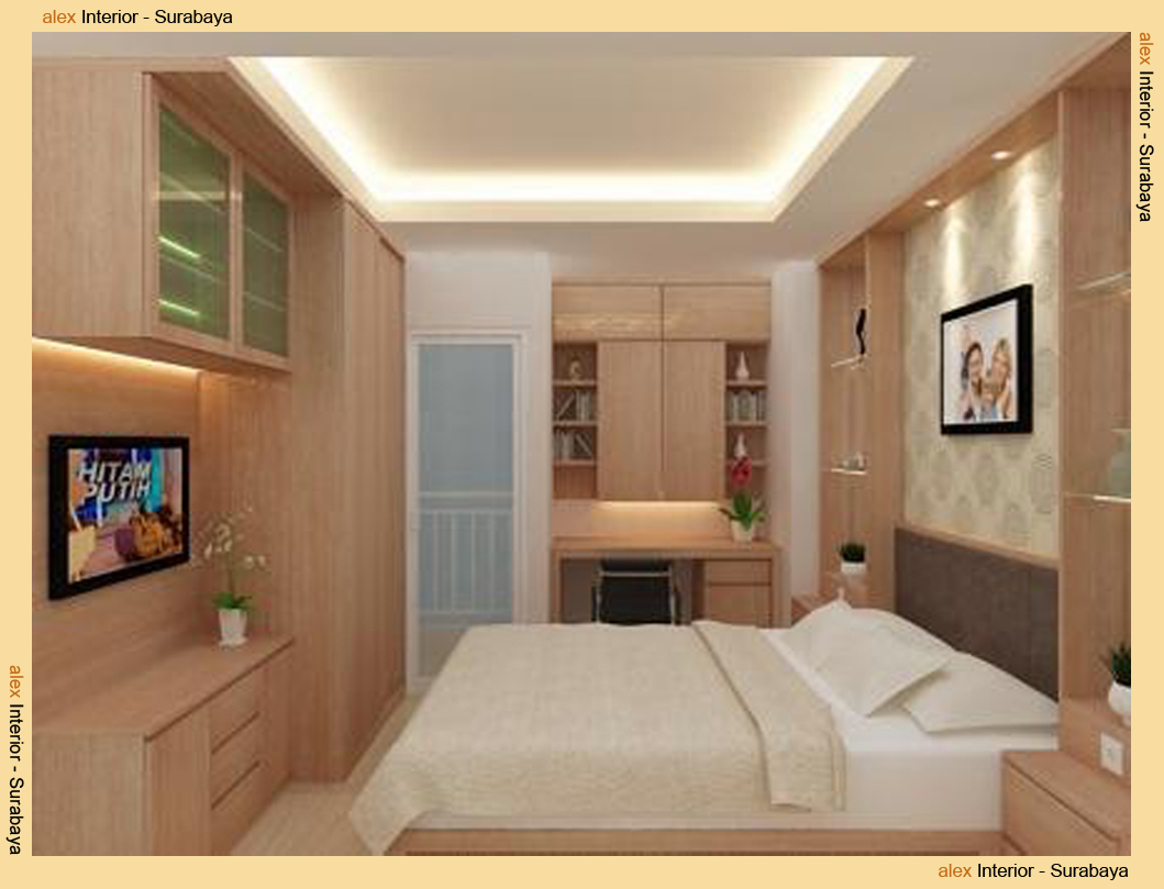 Desain Interior Kamar Kost Minimalis  Desain Rumah