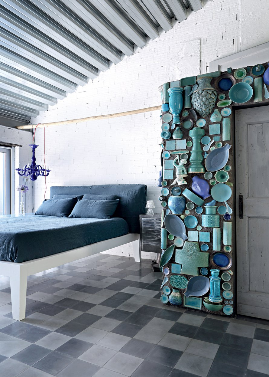 decordemon: Paola Navone Eclectic Renovated Factory