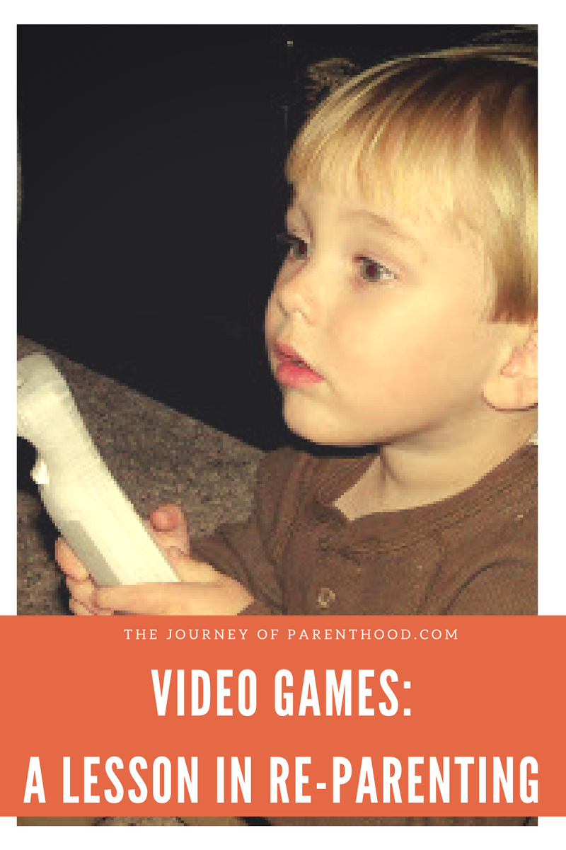 Video Games – A Lesson in Reparenting
