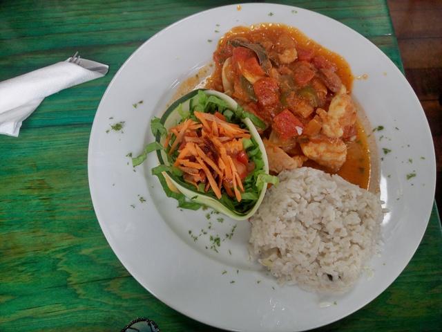 Almuerzo en el Buena Vista