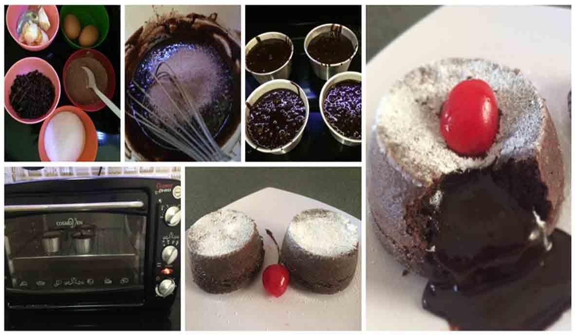 Resep Chocolate Lava. Lelehan Cokelat Mengkilap dari Cake Bikin Ngiler