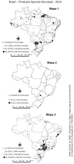 Brasil – Produção Agrícola Municipal – 2016