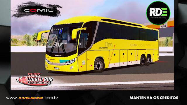 COMIL 1200 6X2 - VIAÇÃO ITAPEMIRIM CLIMM
