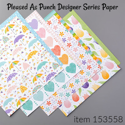 Stampin' Up!'s Pleased As Punch Designer Series Paper | item #153558