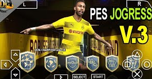 PES 2018 Jogress V3 PPSSPP