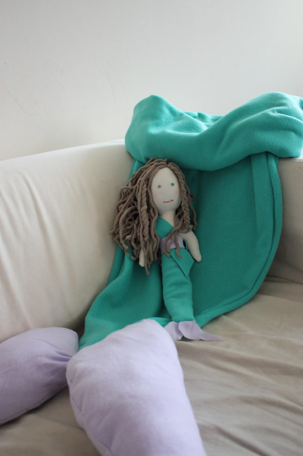 Mermaid Tail Blanket For Sale: MakingMe: DIY Mermaid Tail Blanket