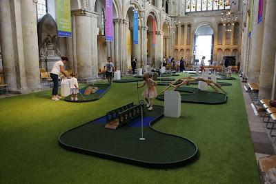Rochester: crazy golf