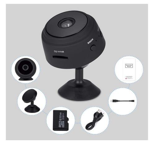CABLE4U Night Vision 1080P HD Mini Camera